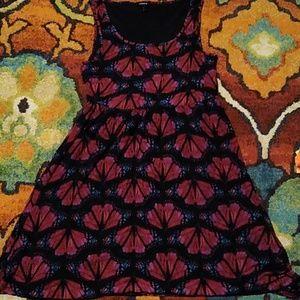 Beautiful butterfly stretch torrid dress